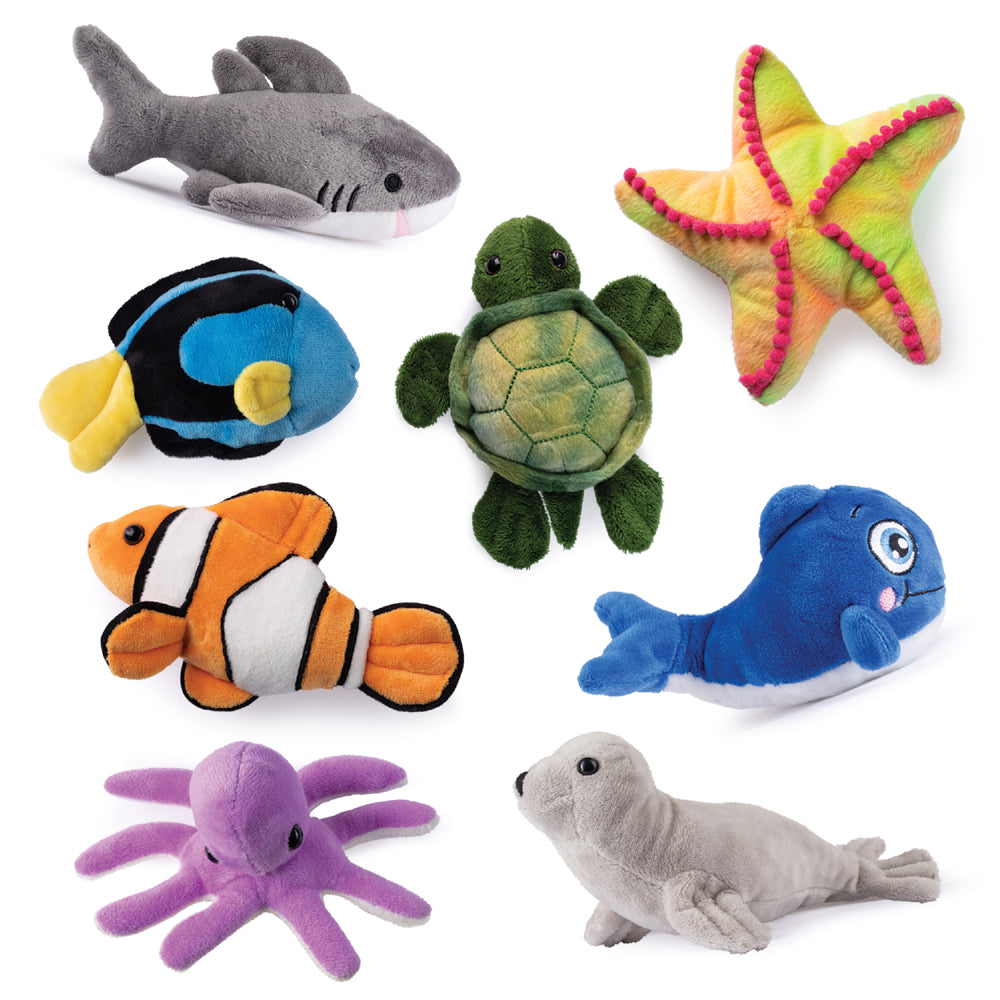 Sea Creature Friends (set of 8)