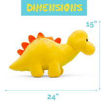 Load image into Gallery viewer, Plush Dinosaur Stegasaurus