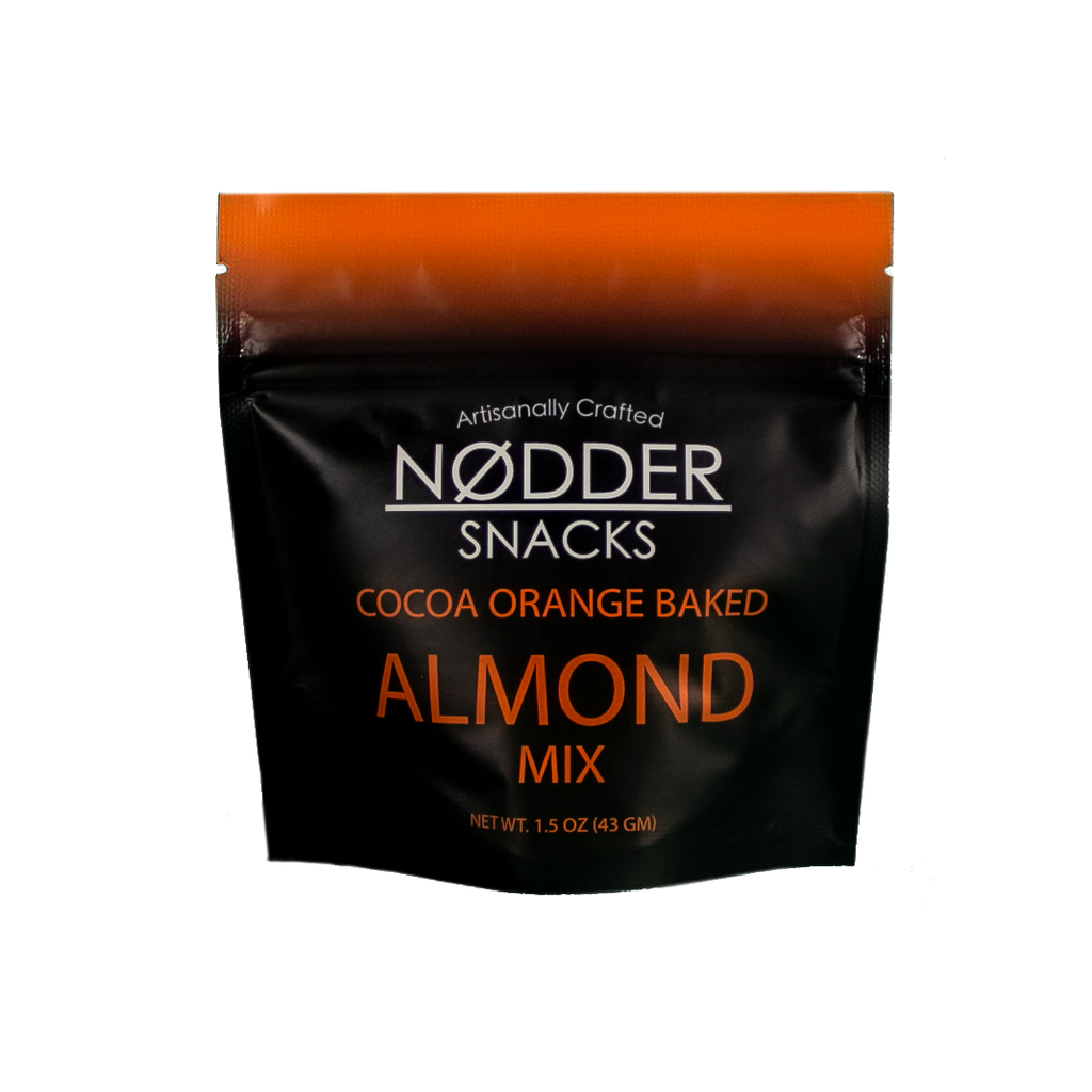 Cocoa Orange Baked Almond Mix - 2 Pack Snack Size