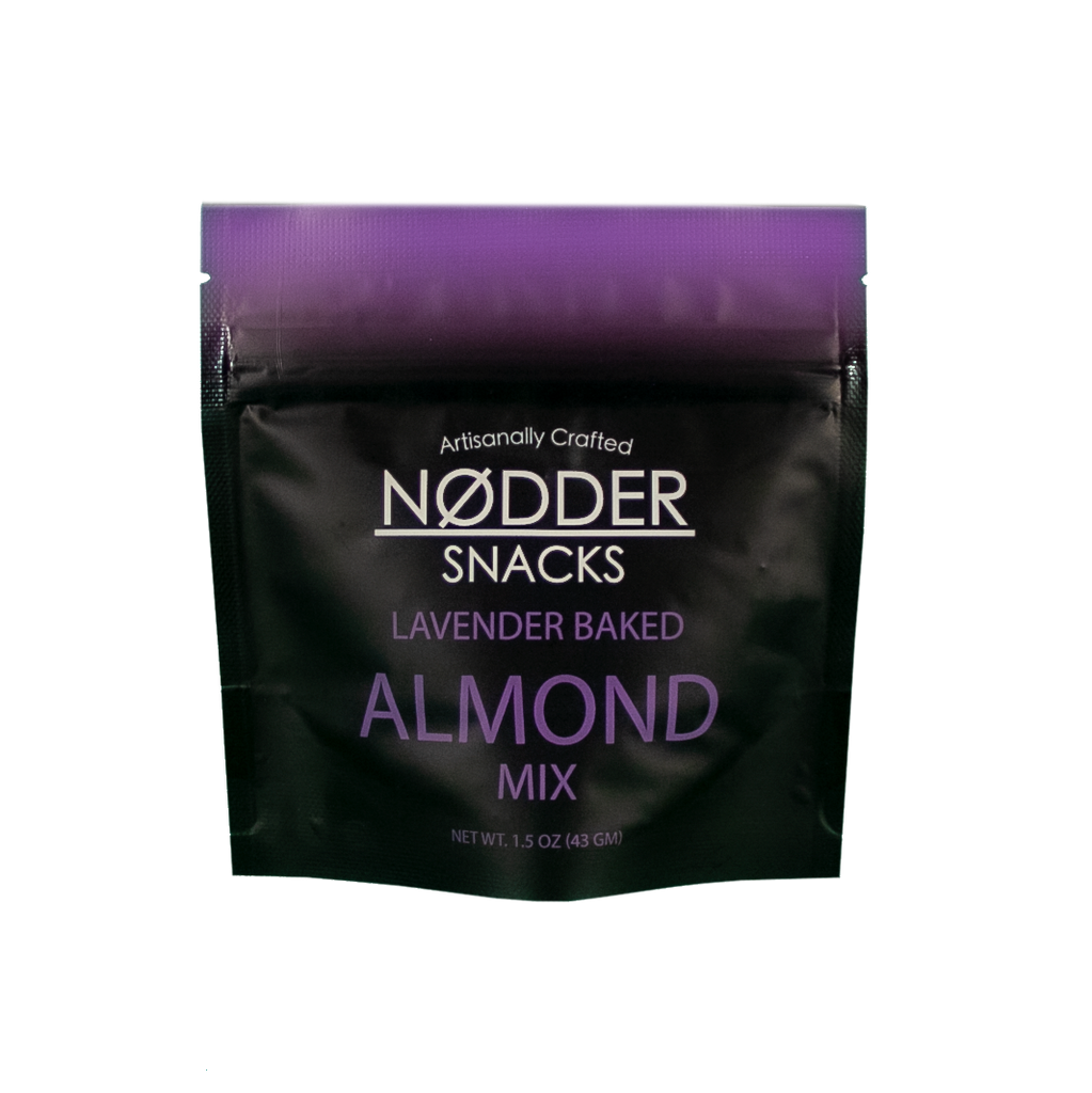 Lavender Baked Almond Mix - 2 Pack Snack Size