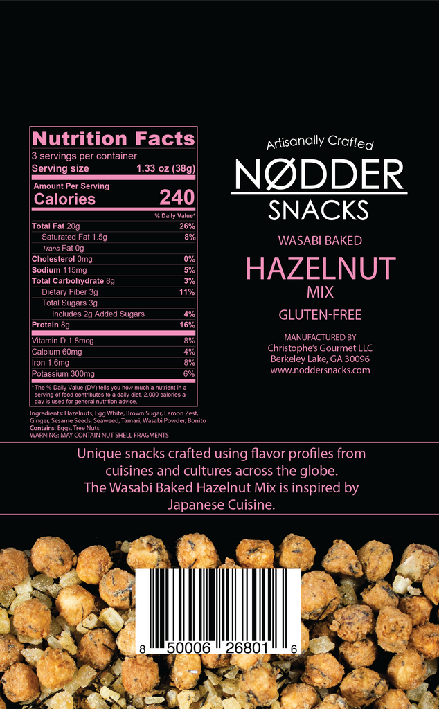 Wasabi Baked Hazelnut Mix - 2 Pack
