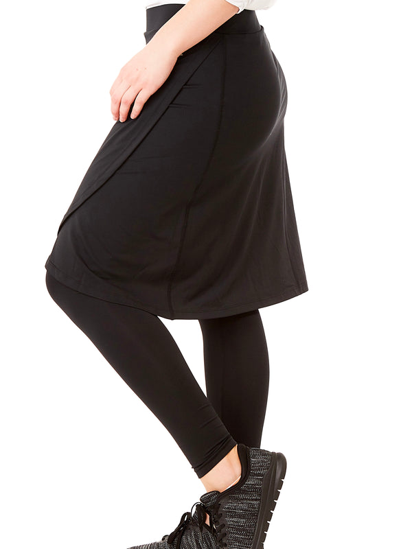 SNOGA Faux Long Leggings - Hazlee