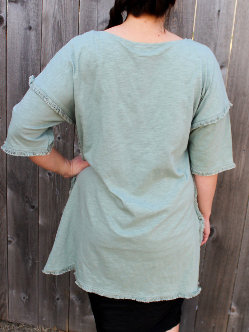 Mint To Be Tunic - Hazlee