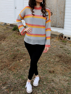 Light Sherbet Sweater - Hazlee