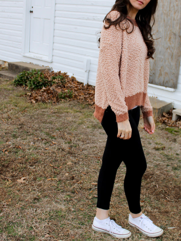 Blush Sweater - Hazlee