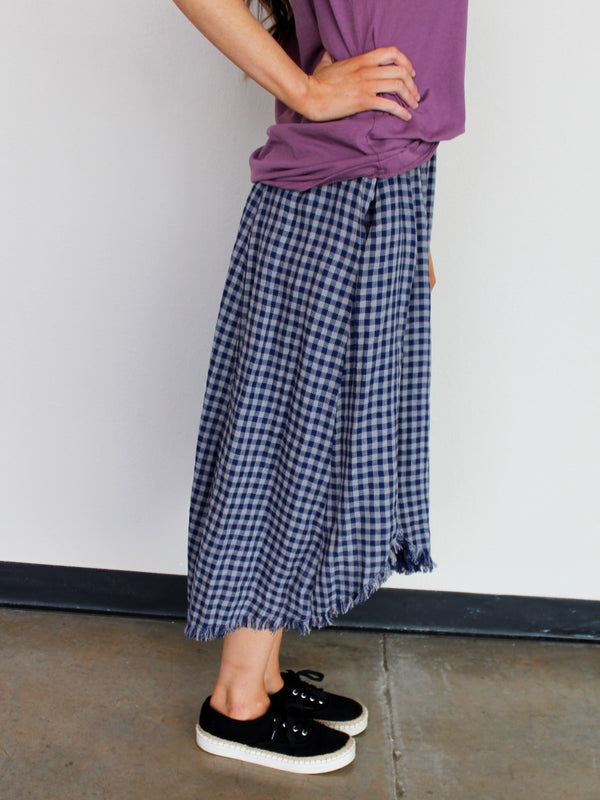 Gingham Skirt - Hazlee