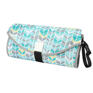 Little Clean Bums™  3-in-1 Waterproof Portable Baby Changing Mat, Diaper Clutch & Nappy Changing Station