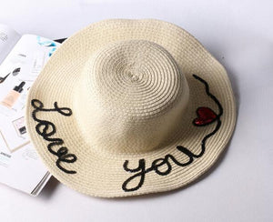 Love You More - Mom & Me Sun Hats