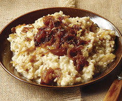 onion risotto