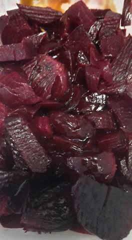 Orange Roasted Red Beets