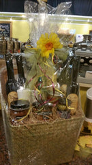 bottle gift basket