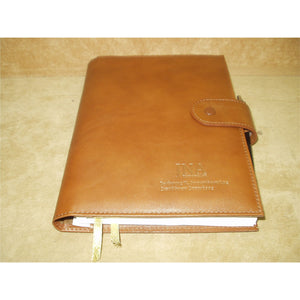 Leather Case For 14x21cm Diary - Douroukas Leather Goods