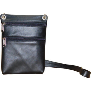 Leather Small Shoulder Bag - Douroukas Leather Goods