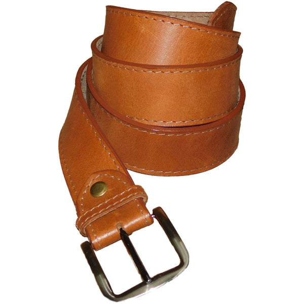 Leather Belt 3,5cm - Tampa - Douroukas Leather Goods