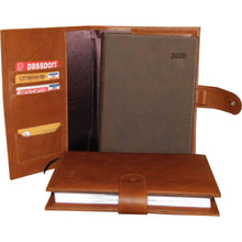 Load image into Gallery viewer, Leather Case For 14x21cm Diary - Douroukas Leather Goods