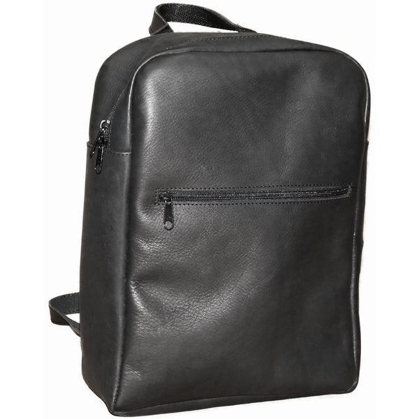 Leather Backpack (0100) - Douroukas Leather Goods