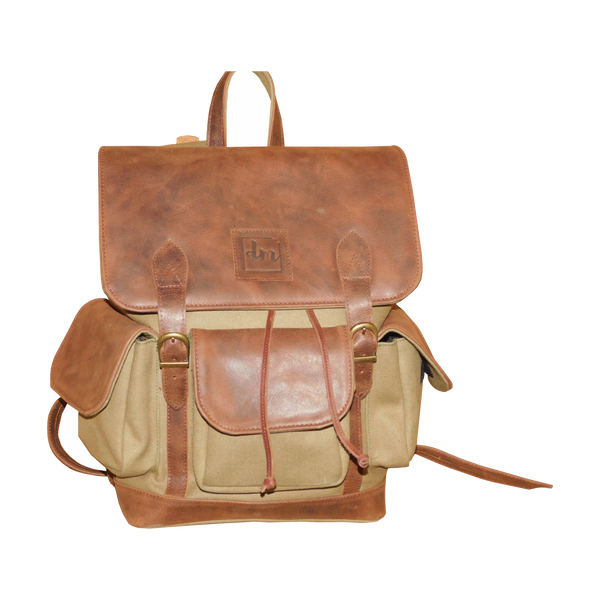 Leather Backpack - Douroukas Leather Goods