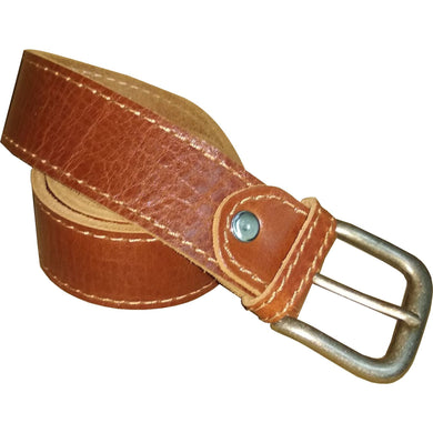 Leather Belt 4cm - Douroukas Leather Goods