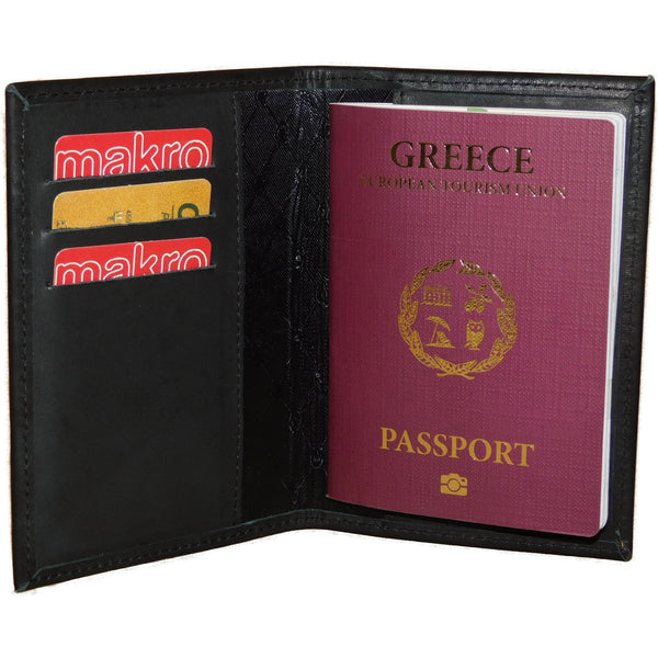 Leather Case For Passport - Douroukas Leather Goods