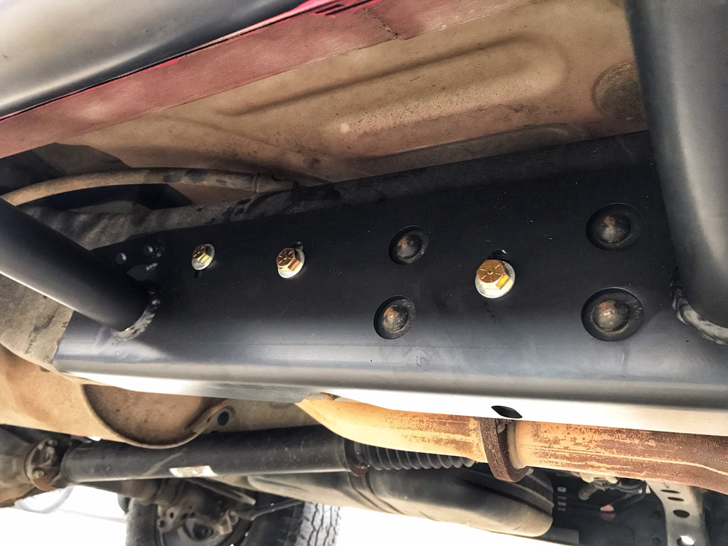 Bolt on Slider Install