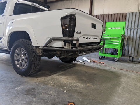 2nd Gen Tacoma High Clearance Tomcat Rear Bumper