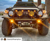 Tacoma Warthog Front Winch Bumper 2nd/3rd gen