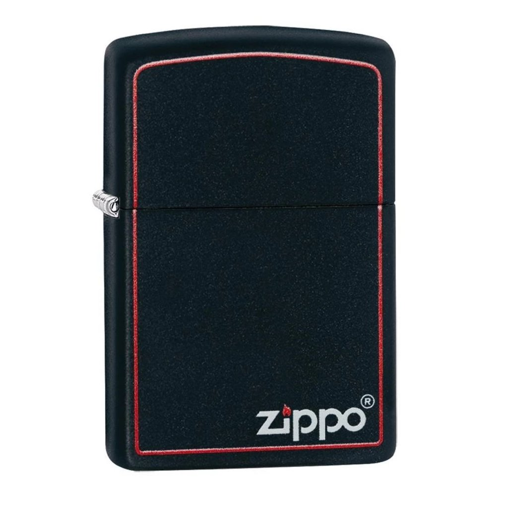 Classic Black and Red Zippo