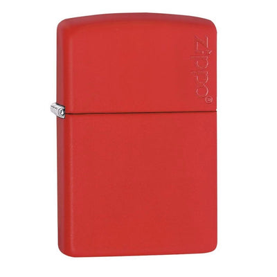 Red Matte with Zippo Logo