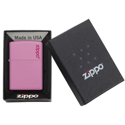 Pink Matte with Zippo Logo