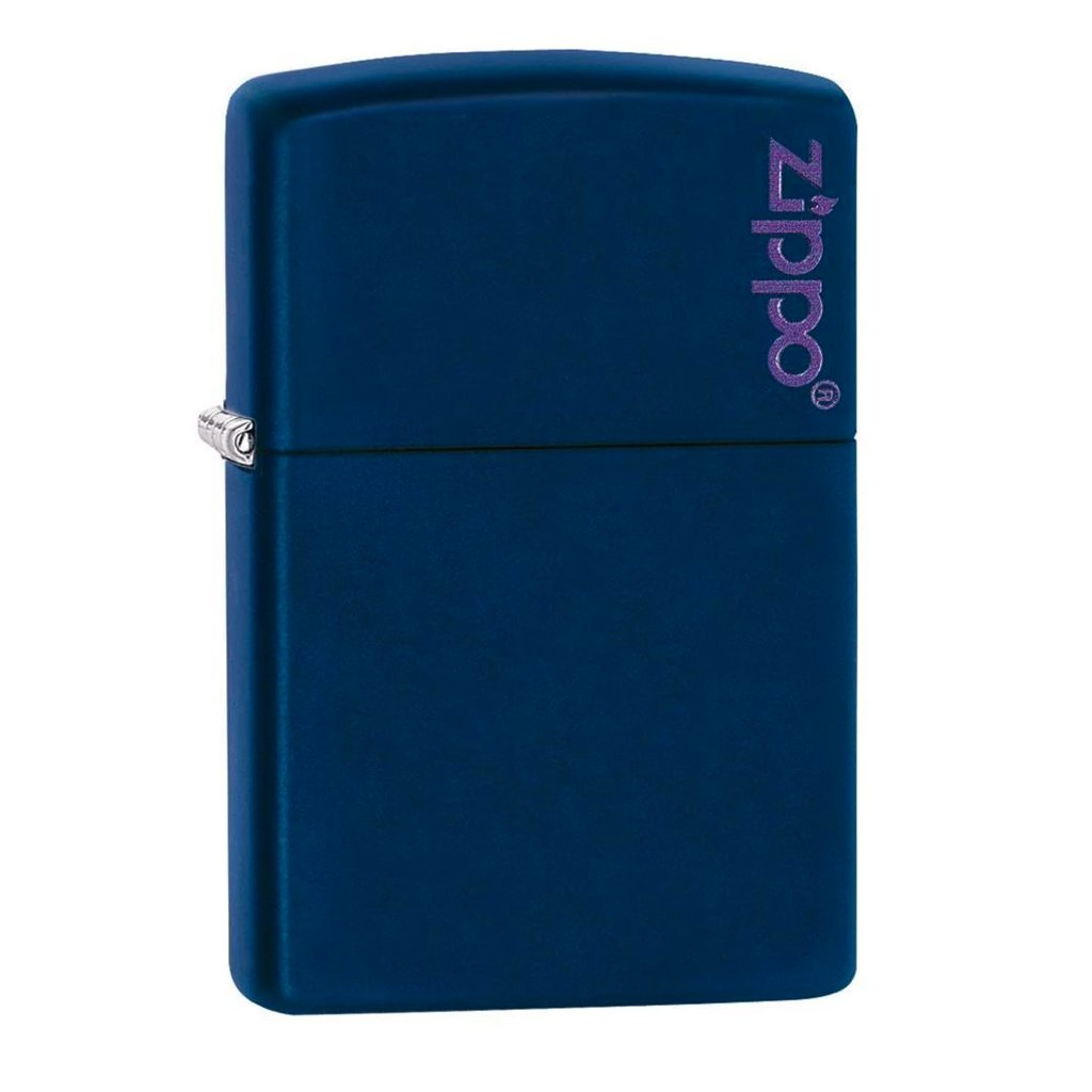 Navy Matte with Zippo Logo