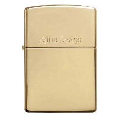 High Polish Solid Brass