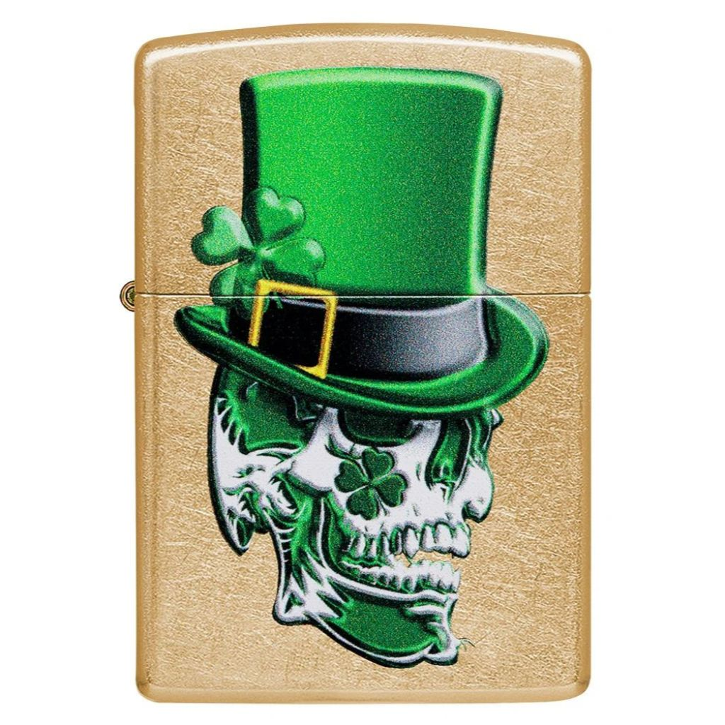 Irish Skull Design