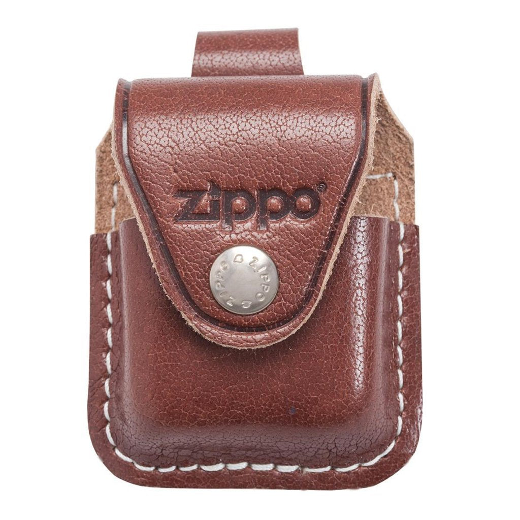 Brown Lighter Pouch- Loop