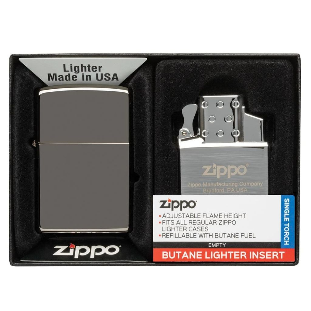 Lighter & Single Butane Insert Gift Set