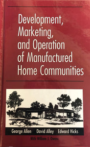 DEVELOPMENT OF MANUFACTURED HOME COMMUNITIES