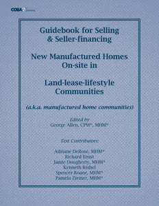 GUIDEBOOK FOR SELLING MANUFACTURED HOMES (PDF download)