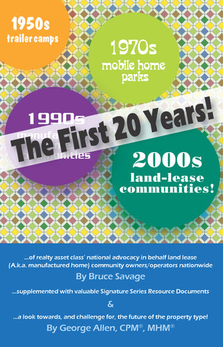 TWO DECADES OF MOBILE HOME COMMUNITIES (PDF download)