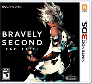 Bravely Second: End Layer - [Game Cartridge & Case] Nintendo 3DS