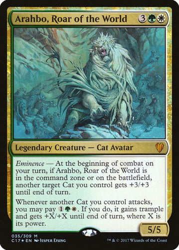 Arahbo, Roar of the World - [FOIL] Commander 2017 (C17)