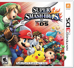 Super Smash Bros. - [Game Cartridge & Case] Nintendo 3DS 2014