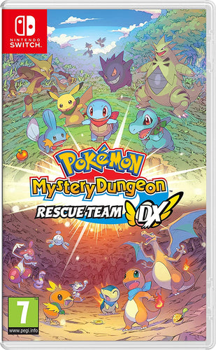 Pokemon Mystery Dungeon: Rescue Team DX - [Game Cartridge & Case] Nintendo Switch