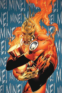 "Master Thief (FOIL) ""Green Lantern: Agent Orange, Larfleeze"" - Altered by Eric Klug"