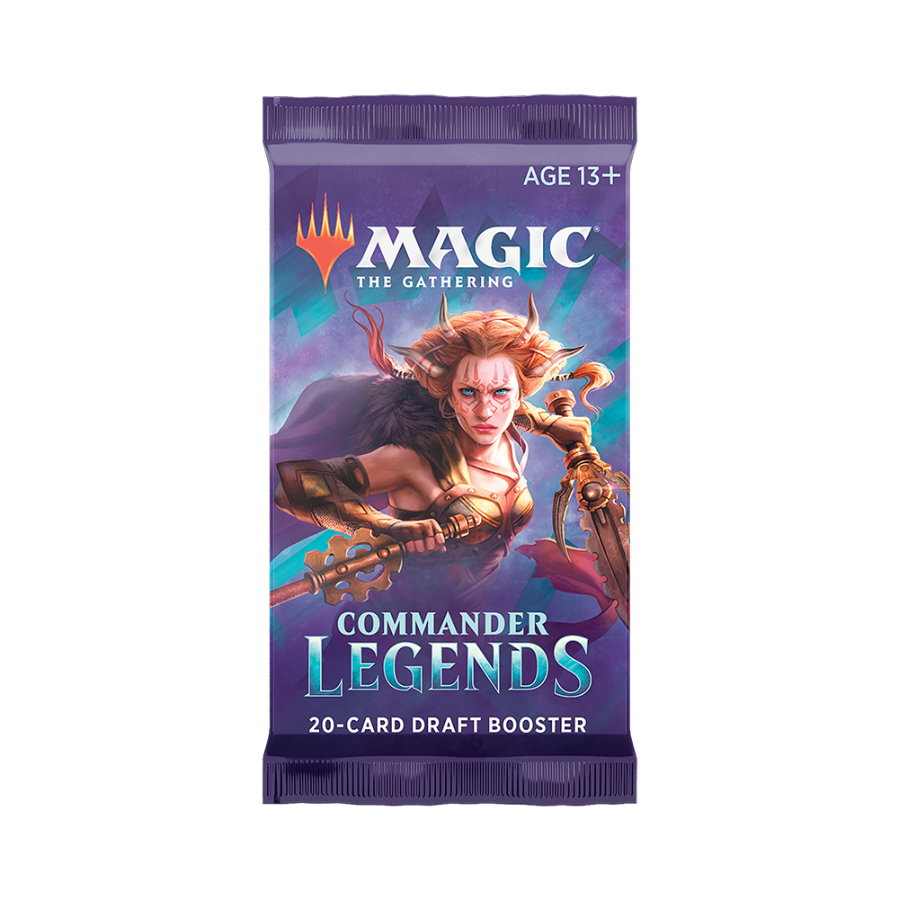 Commander Legends Booster Pack - Opened Live on Stream