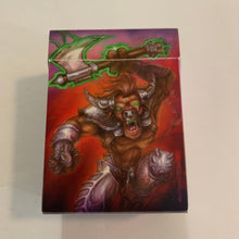 "Load image into Gallery viewer, Gnarly Minotaur Deck Box - ""War Beast"" Ultra Pro (2007)"