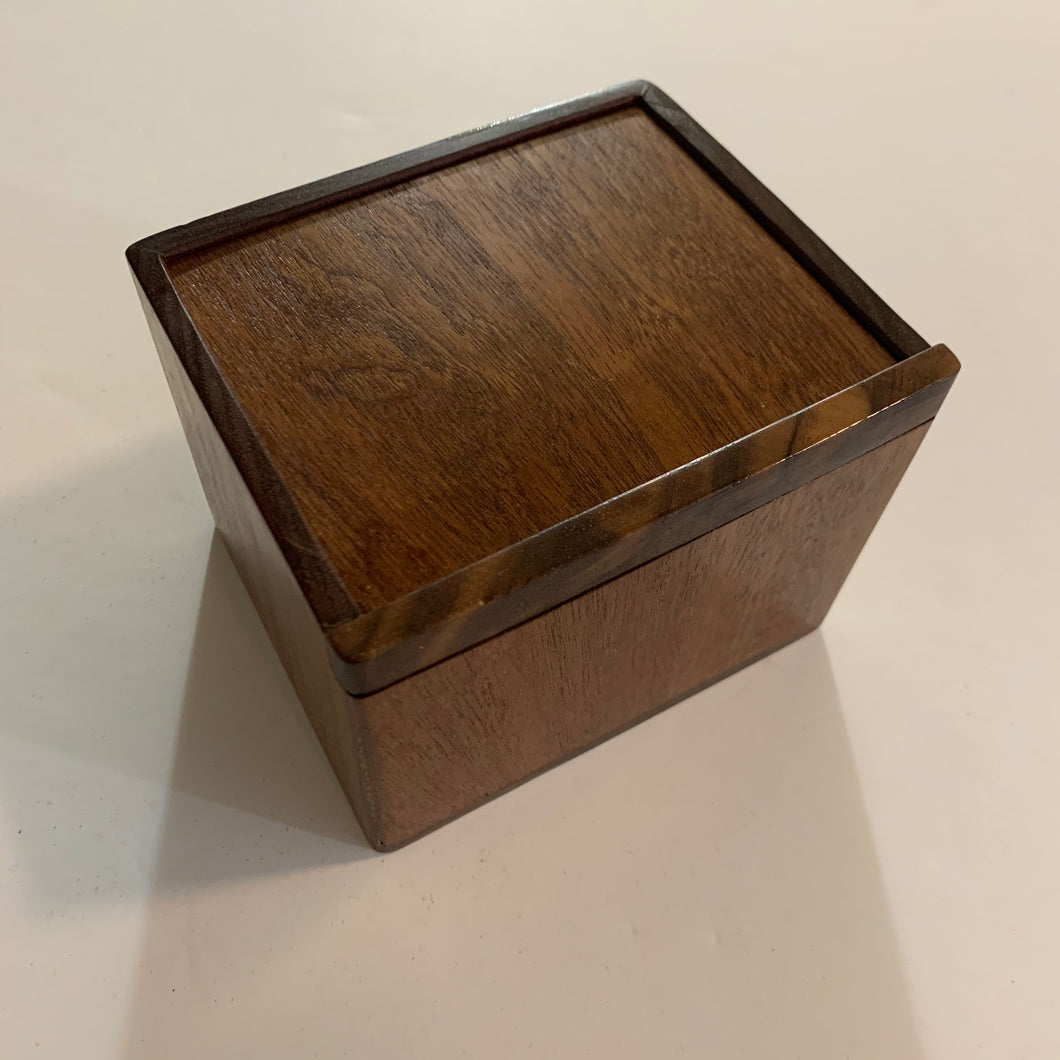 Handmade Wooden Commander Deck Box