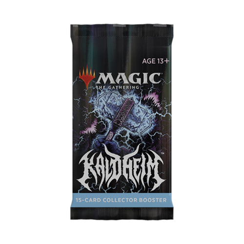Kaldheim Collector Booster Pack - Opened Live on Stream (Preorder)