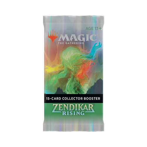 Zendikar Rising Collector Booster Pack - Opened Live on Stream