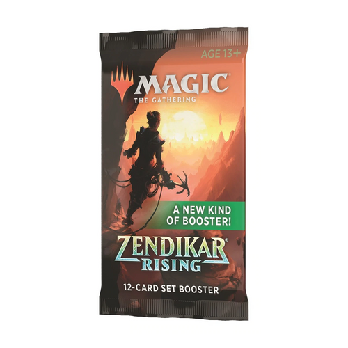 Zendikar Rising Set Booster Pack - Opened Live on Stream