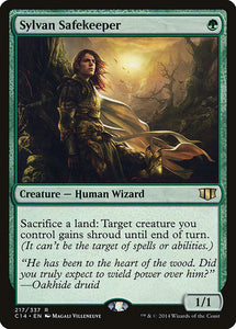 Sylvan Safekeeper - Commander 2014