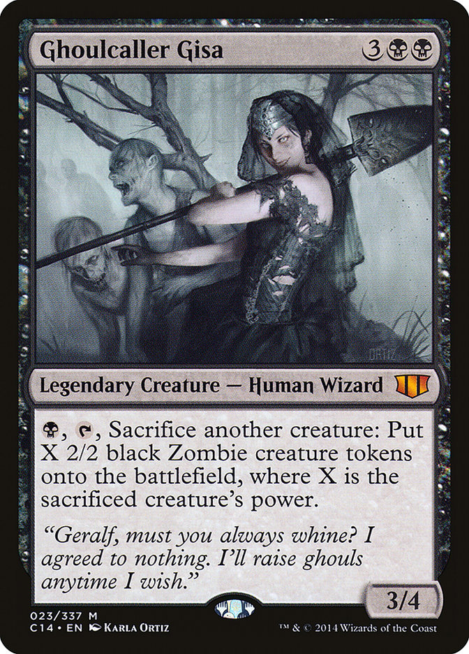 Ghoulcaller Gisa - Commander 2014